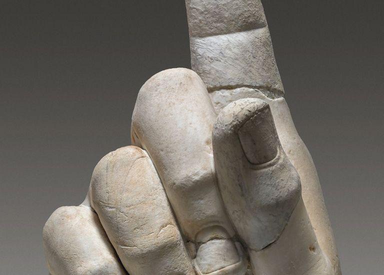 Rechte Hand Konstantins Musei Capitolini